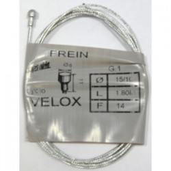 CABLES FREIN VELO 1.80M 15/10